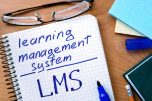 Notepad with Learning Management System LMS Return on Investment