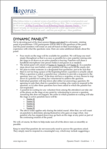 Dynamic Panels Guidelines